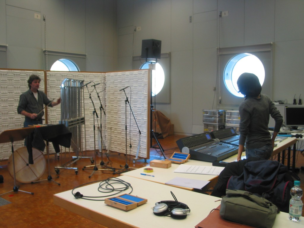 Experimentalstudio Freiburg | recording session with O.Tzschoppe
