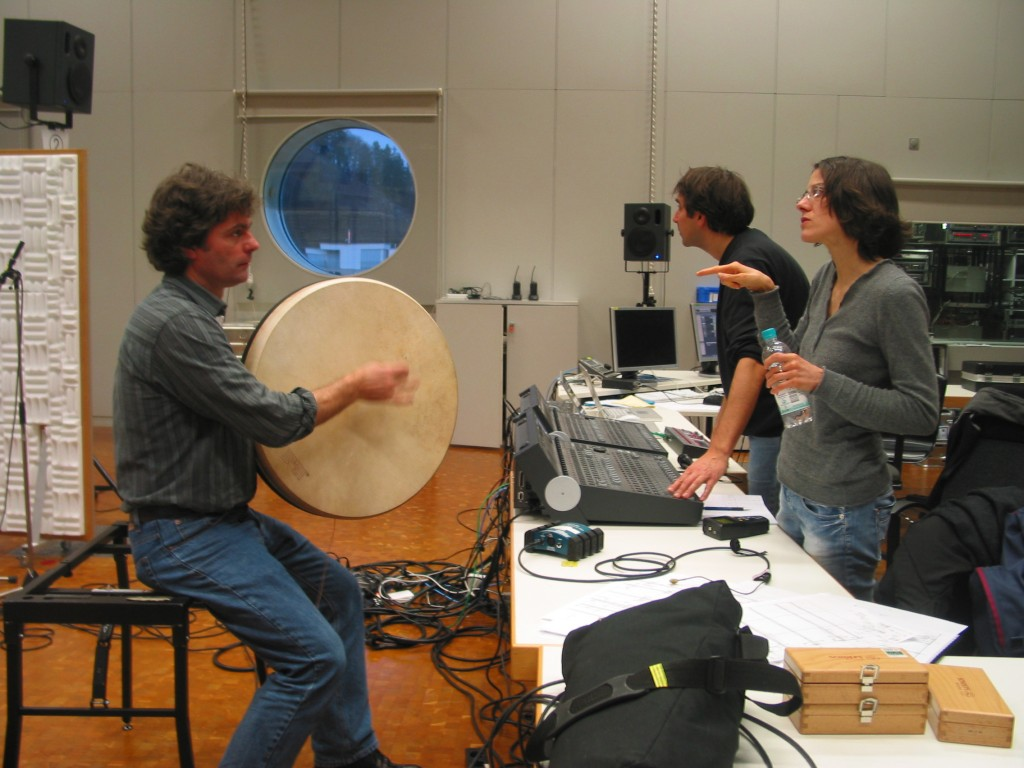 Experimentalstudio Freiburg | recording session with O.Tzschoppe and J.Haas