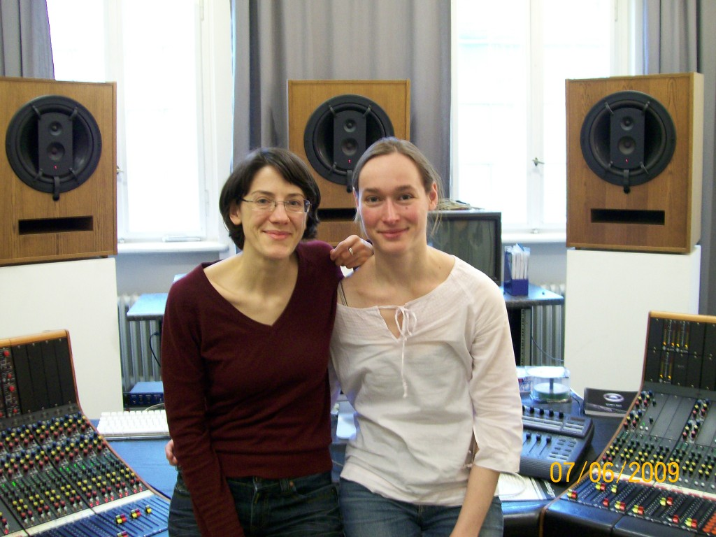 AdK E-Studio residency - A-M Hölscher, M.Gentilucci
