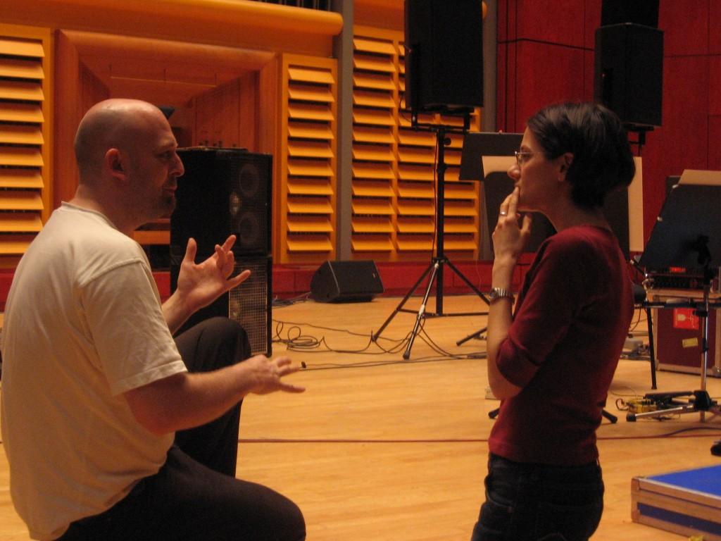 "E""-Nacht"" Stuttgart -Konzert Saal | rehearsal with M.Hettmer"