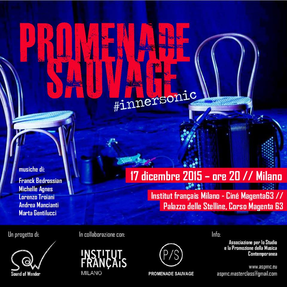 Promenade Sauvage  at the Institut Français Milan