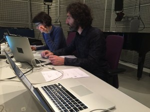 IRCAM - Last day in Studio| C.Laurenzi and M.Gentilucci
