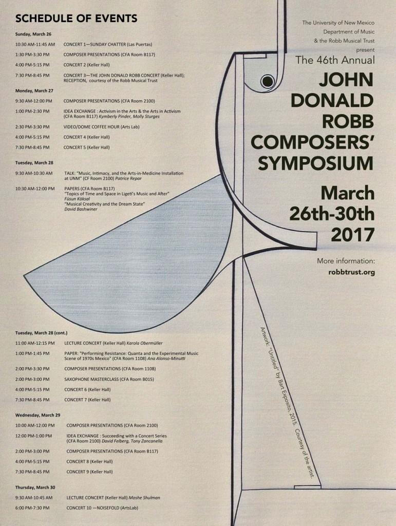 John Donald Robb Composers' Symposium