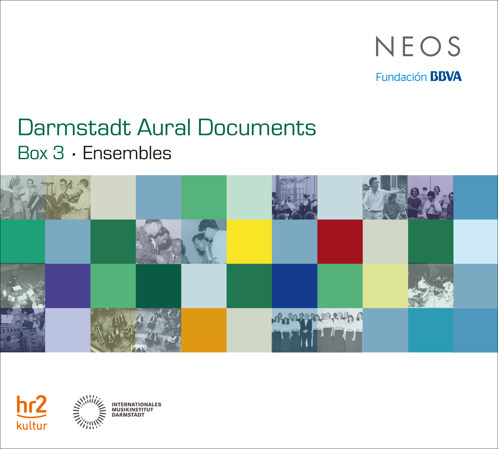 NEOS CD Darmstadt Aural Archive Box3